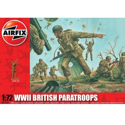 Airfix 01723 - British (WWII) Paratroops  - Scale 1.72a