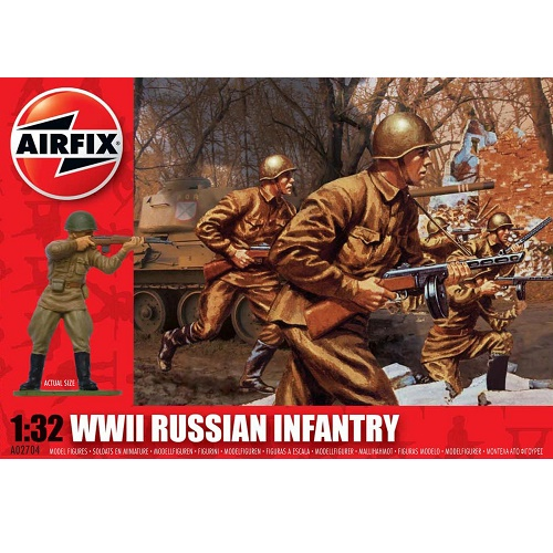 Airfix 02704 RUSSIAN INFANTRY  - Scale 1.32