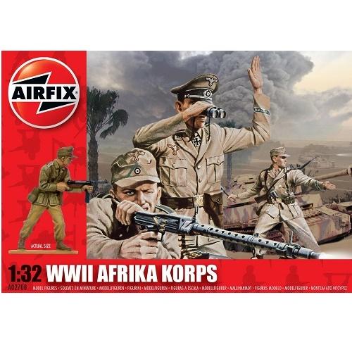 Airfix 02708 - Afrika Korps - Scale 1.32