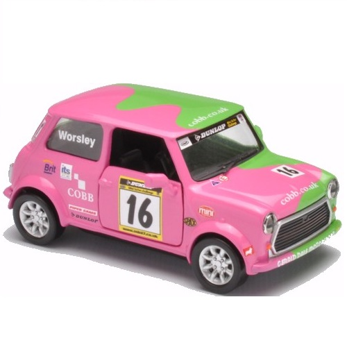 CORGI CC 82277 -  MINI Miglia Racing - 16, A.Worsley  Scale 1.43