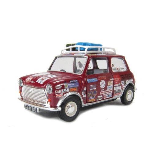 Corgi  CC 82295 - Morris Mini Minor Deluxe - Mini Minor to Asia Minor Rob Stacey - Scale 1.43 a