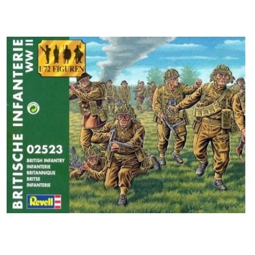 revell british infantry ww1 scale 172 - Revell Night Color