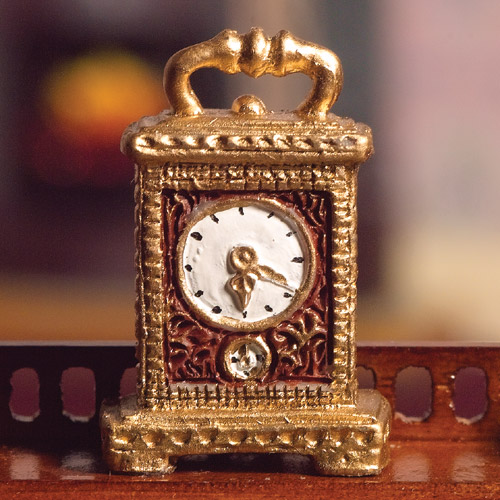 4528 - Gold Carriage Clock