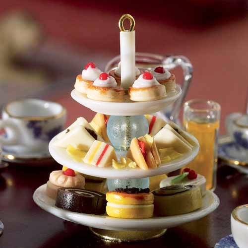 5808 - Cake Stand with Afternoon Tea