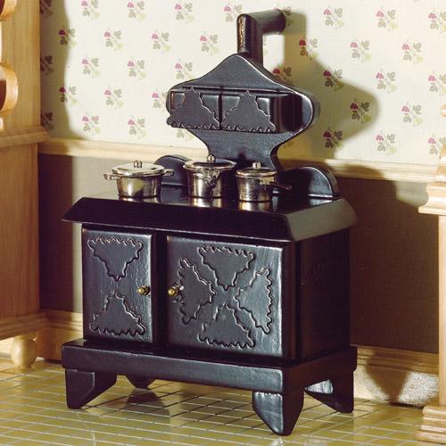 Furniture 2038 - Victorian Stove & Hot Plate