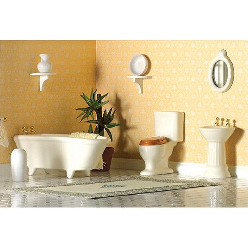 Furniture 2125 - Plain White Bathroom