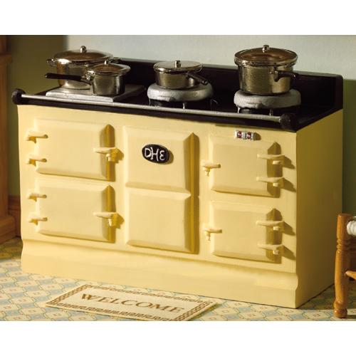 Furniture 2959 - Cream Aga Type Stove