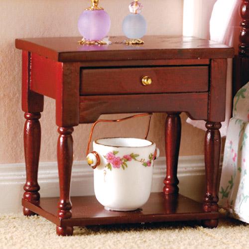 Furniture 3701 - Bedside Table & Shelf