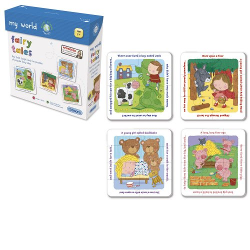 GIB1004 Heads & Tails - Fairy Tales - 4 Puzzles