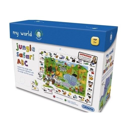 GIB1007 - Jungle Safari ABC - Age 3+
