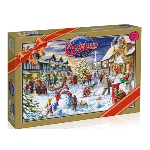 GIB2011 - Christmas 2011 Limited Edition - Village Festivities - 1000 Piece Puzzle