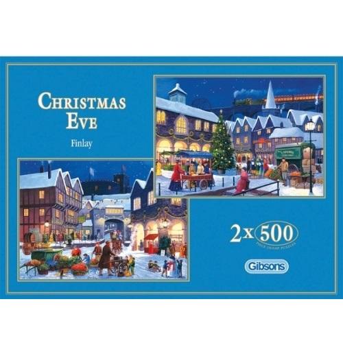 GIB5014 - Christmas Eve - 2 x 500 Piece Puzzle