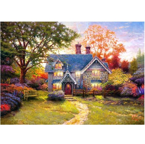 GIB6035 - Gingerbread Cottage - 1000Pce