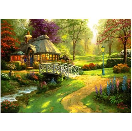 GIB6040 - Friendship Cottage - 1000 Pce