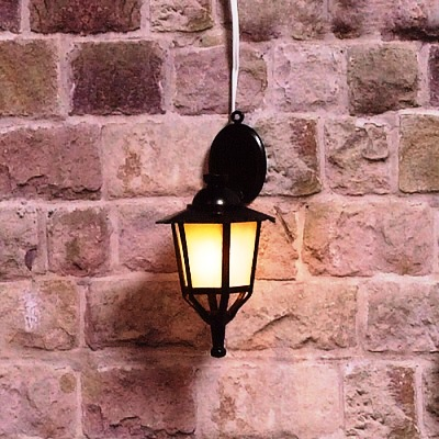 Lighting 2783 - Black Lantern Wall Light