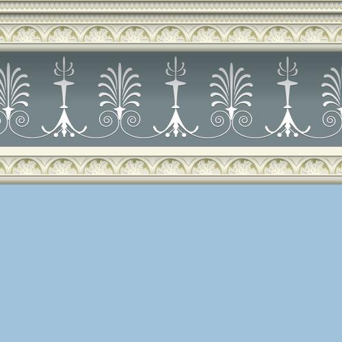 Wallpaper 5840 - Georgian Blue Wallpaper