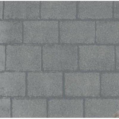 Wallpaper 8206 - Grey Slate Roof Paper