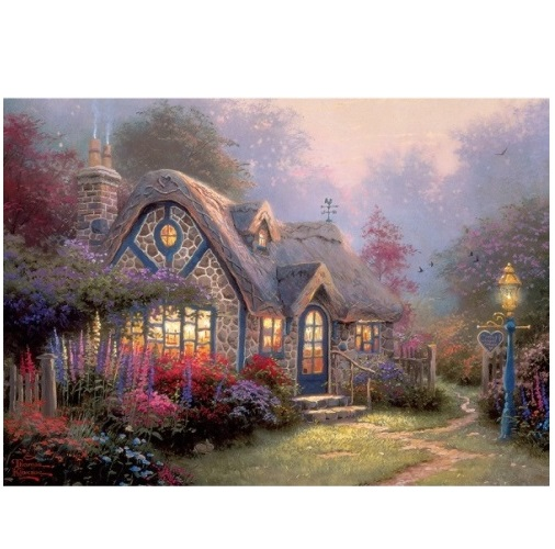 aGIB3036 - Candlelight Cottage - 500 Piece Puzzle
