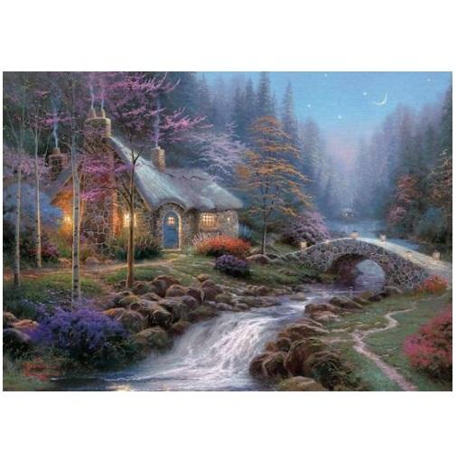 aGIB422 - Twilight Cottage - 1000 Pce