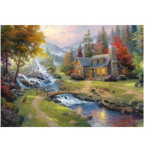 aGIB423 - Mountain Paradise - 1000 Pce