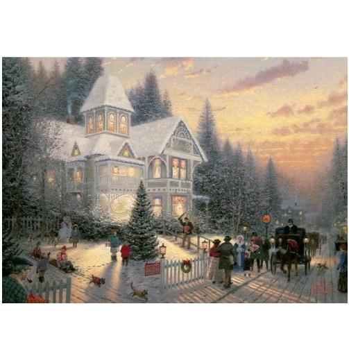 aGIB6085 - Victorian Christmas - 1000 Piece Puzzle