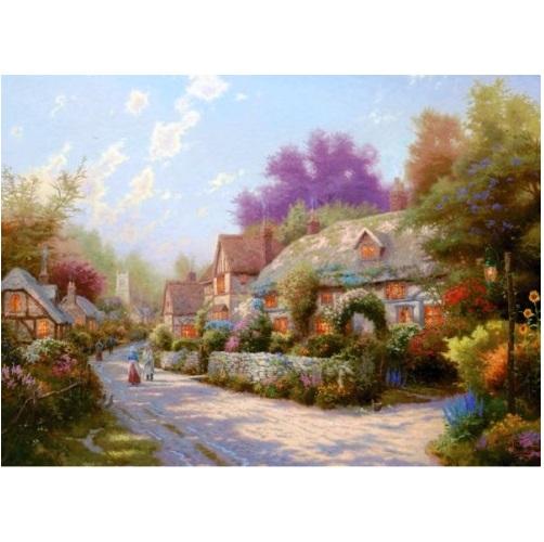 aGIB6099 - Cobblestone Village - 1000 Pce a