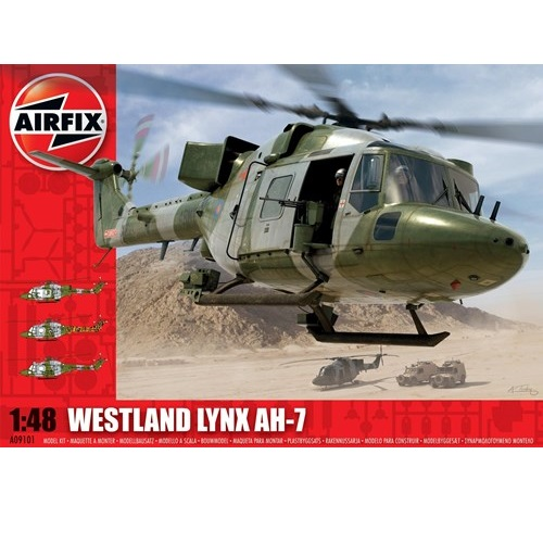 Airfix 09101 - Westland Lynx AH-7Army NEW TOOLING - Scale 1.48