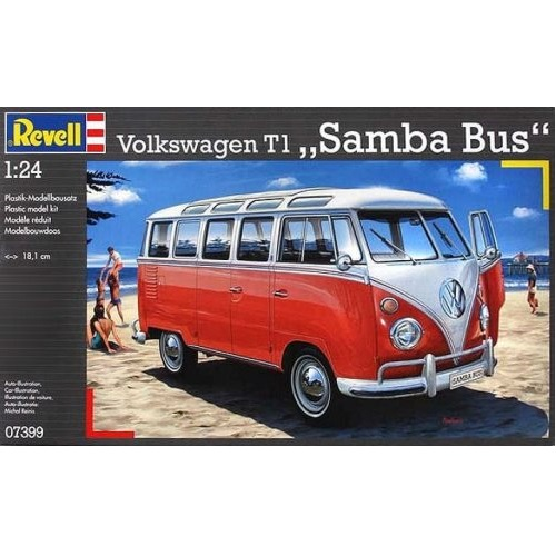 Revell 07399  - VW T1 SAMBA BUS - Scale 1.24