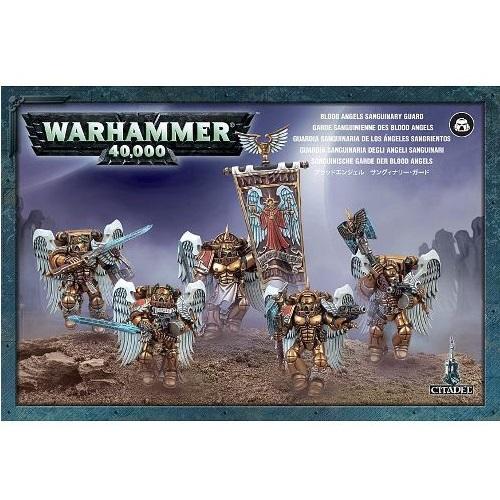 Warhammer 40K - 41-08  - Blood Angels Sanguinary Guard