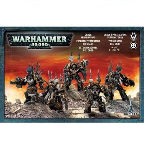 Warhammer 40K - 43-12 - Chaos Terminator Lord