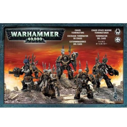 Warhammer 40K - 43-19 - Chaos Terminators