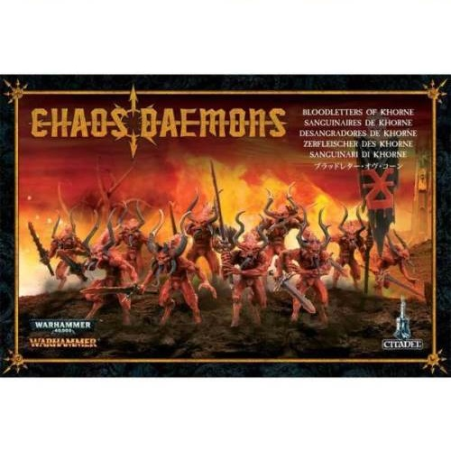 Warhammer 40K - 97-08 - Chaos Daemon Bloodletters a
