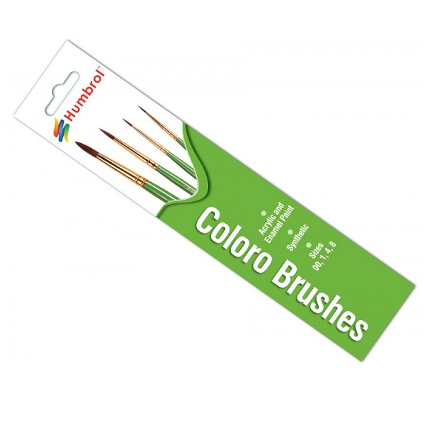 Humbrol 4050 - Brush Pack - Coloro Brush