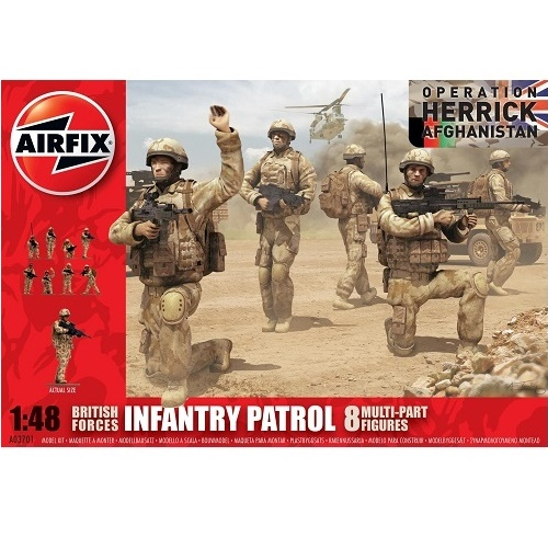 Airfix 03701 - British Army Troops and accessories - Scale 1.48