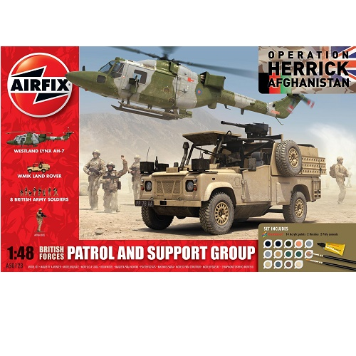 Airfix 50123 - British Forces Patrol and Support Group - Scale 1.48