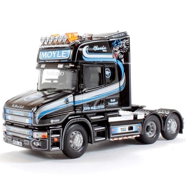 CORGI 12827 - Scania TCab  Boyle Bulk Transport  - Scale 1.50
