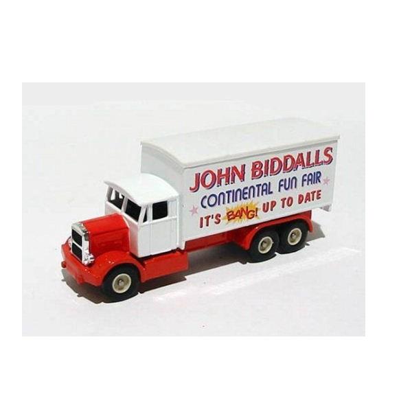 Days Gone 044034 - Scammell 6 Wheeler -Biddalls Fun Fair - Scale 1.76