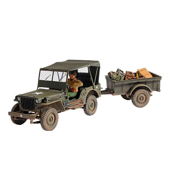 Forces of Valor 81008 - U.S. General Purpose Vehicle - Scale 1.32