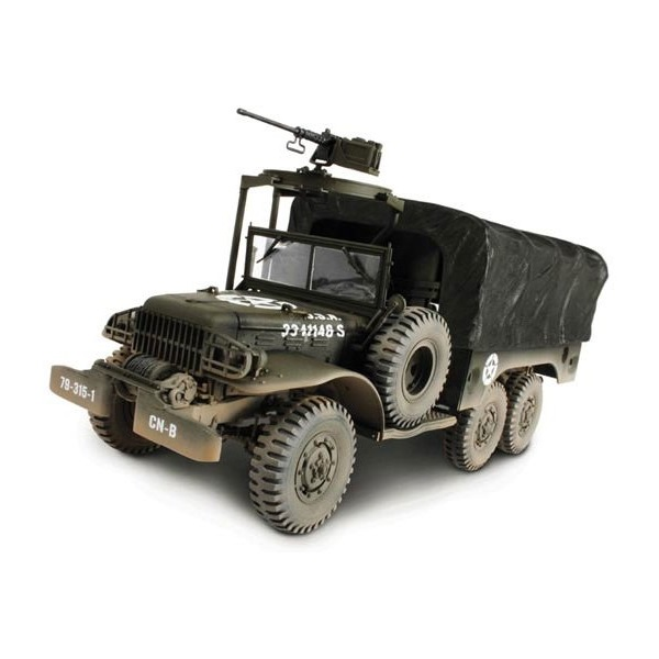 Forces of Valor 81018 - U.S. 6x6 1.5 Ton Cargo Truck - Scale 1.32