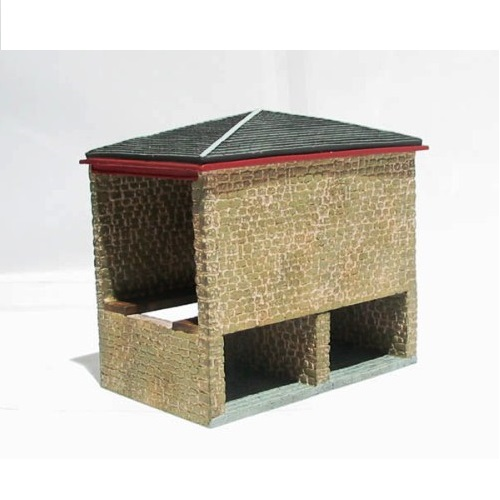 Hornby R8633 - Covered coal shed - 00 Gauge