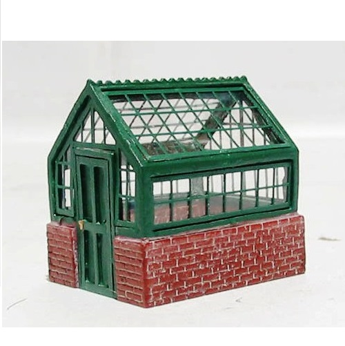 Hornby R8682 - Victorian Brick and Glass Greenhouse - 00 Gauge