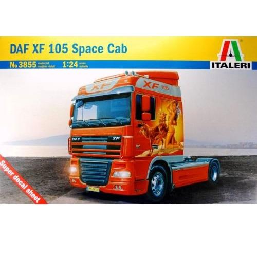 Italeri 3855 - DAF XF105 Space Cab - Scale 1.24