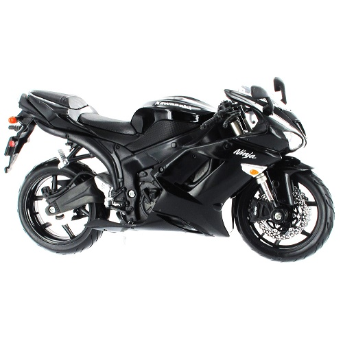 Maisto 31155 - Kawasaki Ninja ZX-6R - Black - 1.12--