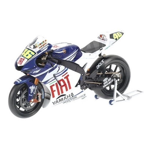 Minichamps 122073046 - Yamaha YZR-M1 – Valentino Rossi 2007 - Scale 1.12-