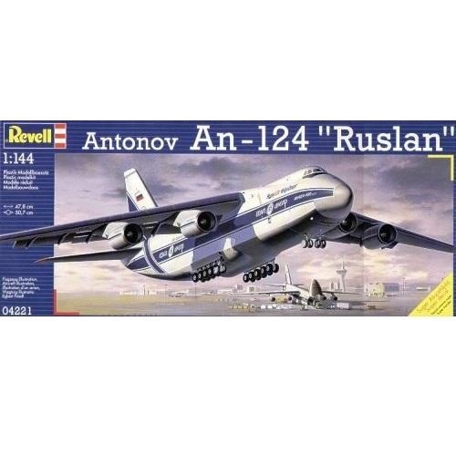 Revell 04221 - Antonov An-124 Rusaln - 1.144