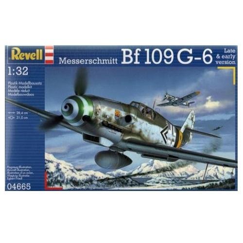 Revell 04665 - Messerschmitt Bf 109G-6 - Scale 1.32