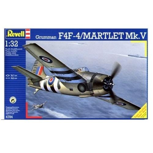 Revell 04784 - Grumman F4F-4 Martlet Mk.V - Scale 1.72 a