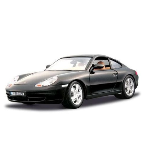 Bburago 12037BK - Porsche 911 Carrera 4 Coupe - Scale 1.18a