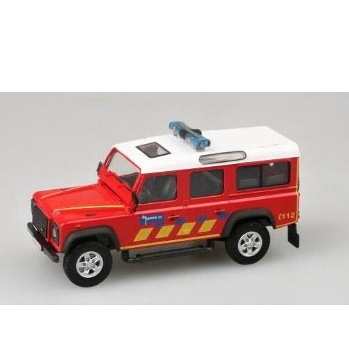 Cararama 56010 - Land Rover Defender Fire Brigade - 1.43