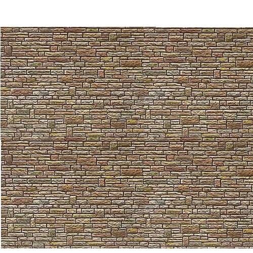 Faller 170604  - Cut Stone Green-Yellow-Brown - 00 Gauge